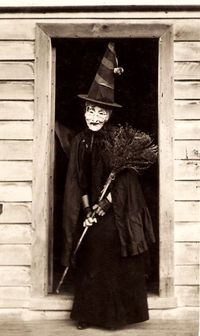 Vintage witch.