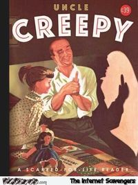 Uncle creepy funny book cover #funny #humor #sarcastichumor #BookHumor #PMSLweb