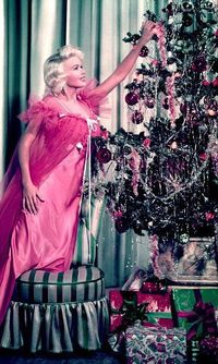 Jayne Mansfield Christmas photo