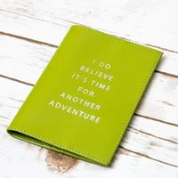 Another Adventure Genuine Leather Passport Cover $23.00