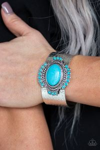 Paparazzi Canyon Crafted-blue $5.00