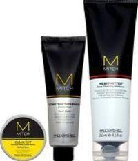 Paul Mitchell Mitch Dapper Gent - Heavy Hitter Set includes: Heavy Hitter Shampoo 250ml: Heavy Hitter Shampoo washes away dirt and product build-up for a powerful clean. The formula invigorates and deep cleans without stripping natural oils; great http://...