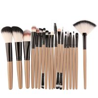 18pcs/set MAANGE Makeup Brushes Kit Powder Eye Shadow Foundation Blush Blending Beauty Women Cosmetic Make Up Brush Maquiagem $6.98