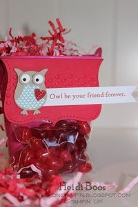 Stuck on Stampin': monkey & owl toppers for valentine's day! Friday, February 8, 2013 - top note die