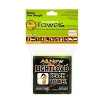 Lightload Towels Large Non Micro Fiber Compressed Beach Swim Towel Durable Packs in Your Pocket Quick Dry Super Absorbent Anti Microbial Camp Backpack Travel Gym 5oz 1 Pack 36x60 $14.99