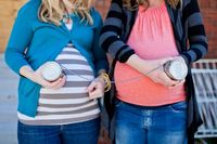 Friend/Sister's maternity idea. if me and