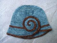 Escargot pattern - FREE (other free hat patterns are available here also!)