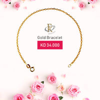 Invite her to sparkle with this timelessly elegant gold bracelet.