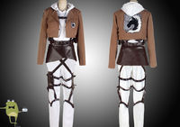 AoT Annie Leonhardt Military Police Cosplay Costume