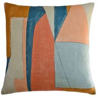 District Apricot Throw Pillow $305.00