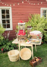Outdoor Movie Night   photo by Nataschia Wielink Photography   100 Layer Cake