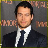 The only reason I'll watch a Superman movie EVER. And he's English :O :O :O
