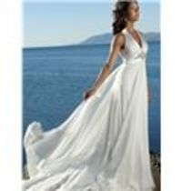 Best Selling Beach Wedding Dresses Open Back Gowns