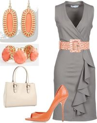 I love this color combination. LOLO Moda: Gorgeous women's outfits