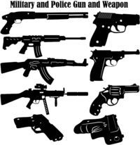 Military and Police Guns and Weapons Just for: $19.50