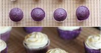 Yummy Recipes: Lavender Cupcakes with Honey Frosting recipe