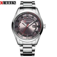 Relogio Masculino Curren Watch Men Luxury Stainless Steel Brand Analog Quartz $26.86
