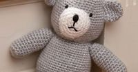 Birthday Bear For A Prince By Michele Wilcox - Free Crochet Pattern - (redheart)