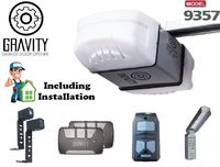 Gravity 9357 Operator Belt Drive Garage opener including Installation and Free Delivery $335.00