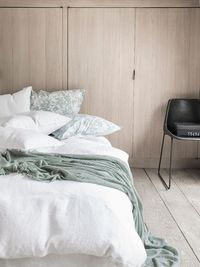 Nouvelle Vague White Bedding by Alexandre Turpault $313.00