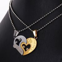 Gullei.com Connecting Hearts Boy Girl Couples Jewelry Gift https://www.gullei.com/couples-gift-ideas/matching-couple-necklaces.html