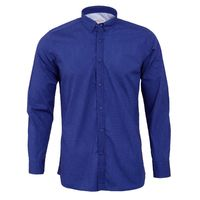 Create a stylish look with this Oxford Men bark blue casual shirt. Woven in Egyptian cotton. this casual shirt has a fine finish.  �€� 100% Cotton  �€� Classic collar  �€� Full Sleeve  �€� Oxford Men  �€� Machin...
