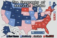 What Are The Nerdiest States In America? This explains why I still identify as an Oregonian and just can't get comfortable in Florida. My people aren't here.