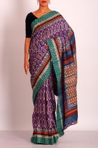 online shopping tussar silk sarees are available at www.unnatisilks.com