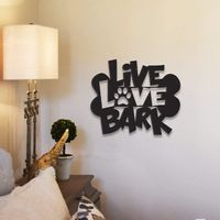 Live Love Bark Metal Wall Decor $57.99 �œ� Handcrafted in USA! �œ� Support American Artisans