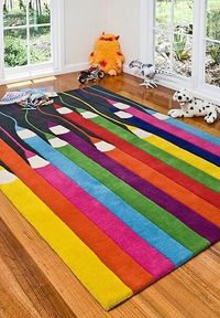 When you are going to purchase a rug specially for kids' room, you must take some elements into cons