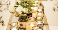 Just when you thought we've come to saturation point with the trend, Mason Jar wedding ideas are still evolving and are simply too cute to ignore.