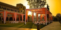 KP events offer a destination wedding & royal wedding at different places in Udaipur. Plan your Weddings at Lakend. The Hotel Lakend is best known for its rich wooden floorings and open to sky washrooms, and courtyard balconies, the guests feel nothin...