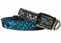 Dragon Leather Dog or Cat Collars, Genuine Leather Pet Collars, Soft, Supple and Durable $22.00