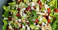 salad with chicken, avocado & tomato with honey lime cilantro vinaigrette   Cooking Classy