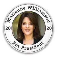 Pin-Back Buttons Mariann Williamson For President 2020 $10.50