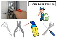 Garage Door Tune-up package $100.00