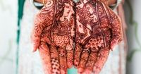 We've got seven stunning ideas that will have the magic of mehndi making a high-impact style statement on your big day!