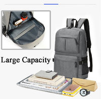 Amor 2019 New Large Capacity Backpack Multifunction USB Chargering Men's Business Travel Laptop Bag