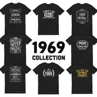 1969 Birthday Gift, Vintage Born in 1969 t-shirt, 51st Birthday shirt, Made in 1969 T-shirt, 51 Year Old Birthday Shirt - 1969 Collection $19.99