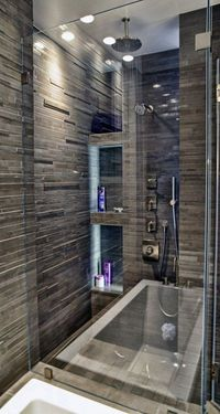 There are various shower tile ideas to make your bathroom look good and the shower area look well planned. Shower design needs some specific attention in decora