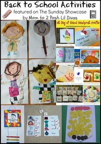 Back to School Crafts and Activities for Kids