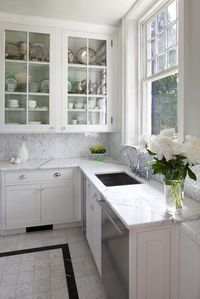 Beaded Inset Kitchen 1 contemporary kitchen