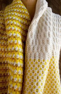 Knitters who have made their fair share of garter stitch scarves, ribbed hats and stockinette sweaters, will understand the hankering to shake things up a bit. I love the rhythm and certainty of the basic stitches, but every now and then I relish the chal...
