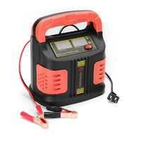 12/24V Jump Starter Emergency Charger Booster Power Bank Fully Automatic Pulse Repair Device