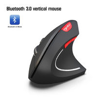 HXSJ T29 2.4GHz 2400DPI bluetooth Wireless Vertical Gaming Mouse Ergonomic Design for PC Laptop with Anne pro 2