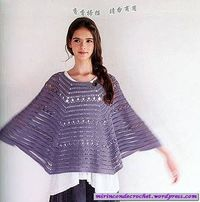 Ponchos | Mi Rincon de Crochet with diagram