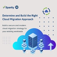 Sparity is a leading cloud migration services provider in USA. We are the leaders in Aws, Azure and cloud migration services & offer all cloud migration consulting services. Please visit our website: https://www.sparity.com/services/cloud/cloud-migrat...