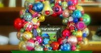 mommy is coo coo - How to make a Christmas ornament wreath with Video Tutorial