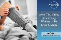 Cozy and Warm Crazy Chicks Leg warmers are available in a variety of styles at our Online Wholesale Store. Choose the one that best fits your legs. http://wholesaleconnections-uk.blogspot.com/2018/05/wear-crazy-chicks-leg-warmers-to-look.html