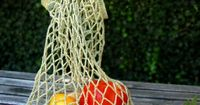 Whit's Knits: Crocheted Linen GroceryTote - The Purl Bee - Knitting Crochet Sewing Embroidery Crafts Patterns and Ideas!